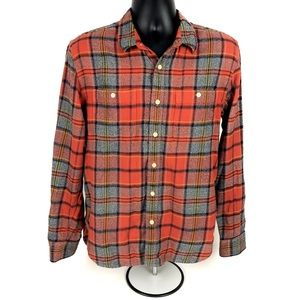 Lucky Brand Shirts - Lucky Brand Classic Fit Plaid Button Down Western